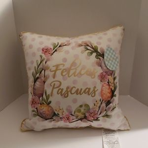 Other - Pillow: Easter Theme Felices Pascuas